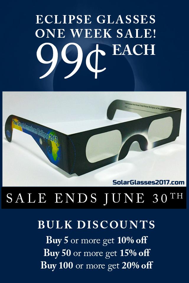 Bulk Solar Eclipse Glasses